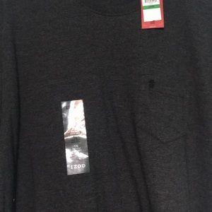 Gray/black Izod tshirt